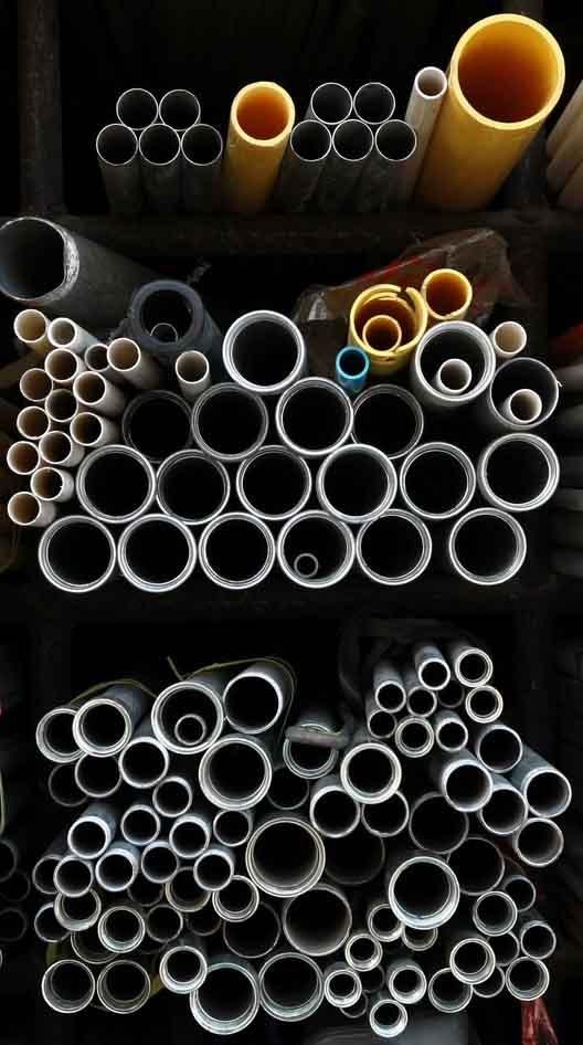 différentes dimensions tuyaux